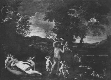 Venus, von Mars belauscht