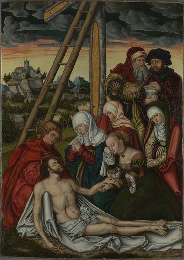 Peter-und-Paul-Altar: Beweinung Christi