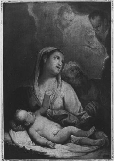 Maria mit dem Kinde und dem hl. Joseph