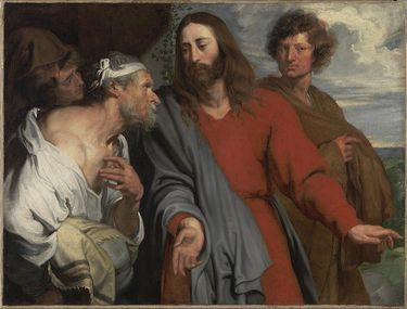 Christus und der Gichtbrüchige