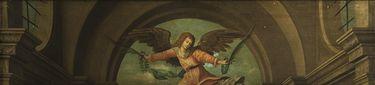 Triptychon von 1505: Die hll. Sigismund und Sebastian