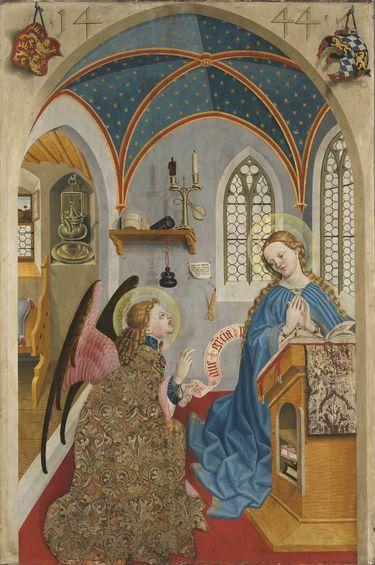 Marienaltar: Verkündigung an Maria