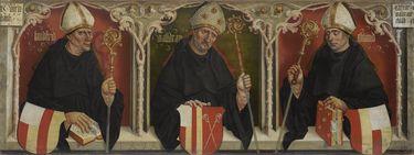 Lantfried, Waldram und Eliland, die Gründer des Klosters Benediktbeuern