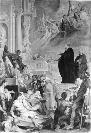 Hl. Franziskus Xaverius heilt Kranke