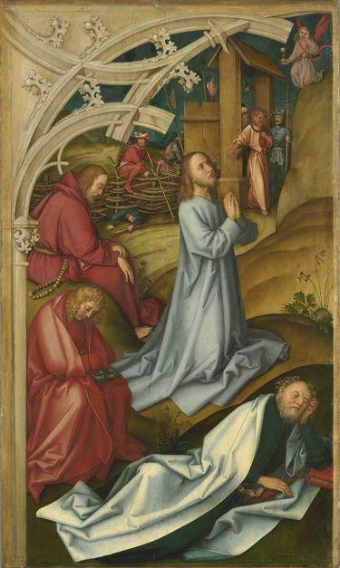 Kaisheimer Altar: Christus am Ölberg