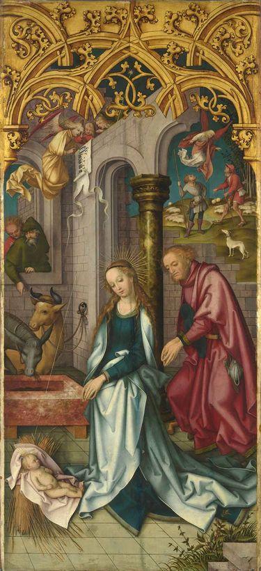 Kaisheimer Altar: Geburt Christi