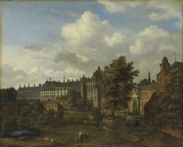 Das alte Palais in Brüssel