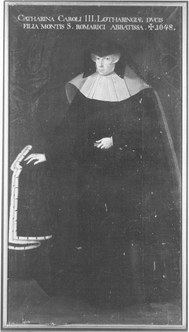 Katharina, Tochter Karls III. von Lothringen, Äbtissin von Remiremont (1573-1648)