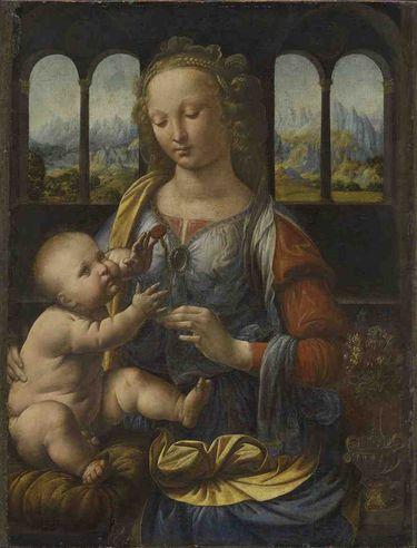 Madonna mit der Nelke