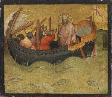 Der hl. Nikolaus hilft in Seenot