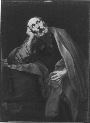 Reumütiger hl. Petrus