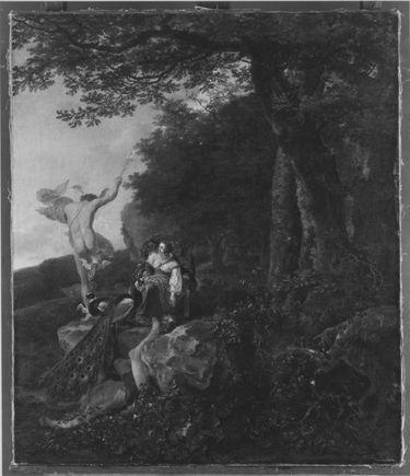 Landschaft mit Merkur, Juno und dem toten Argus
