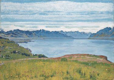 Landschaft am Genfer See