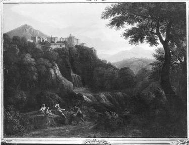 Tivoli mit Vestatempel