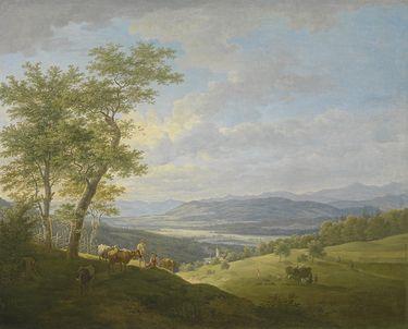 Das Isartal bei Ebenhausen