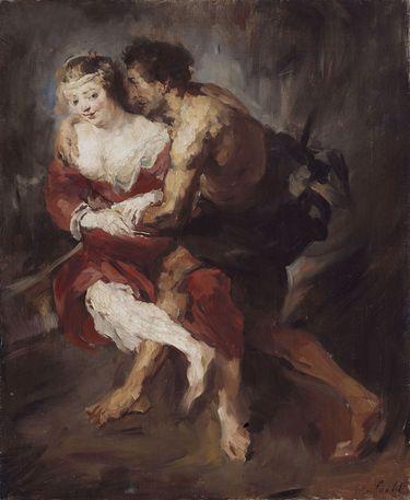 Schäferszene (nach Rubens)