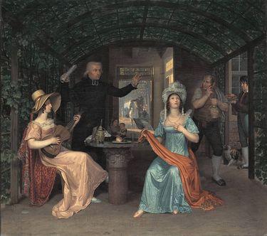 Die Fermate (Gesellschaft in einer römischen Locanda)