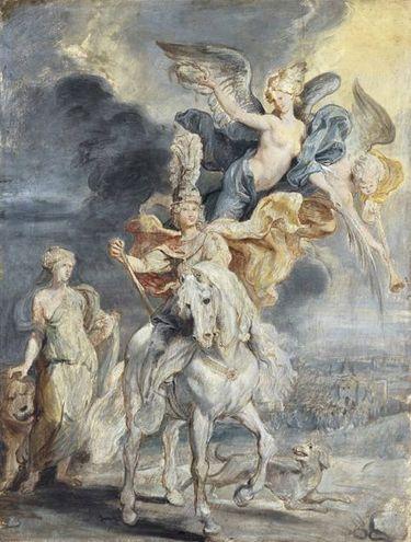 Der Triumph von Jülich (Skizze zum Medici-Zyklus)