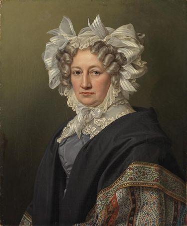 Bildnis einer Dame (Marianne von Krempelhuber?)