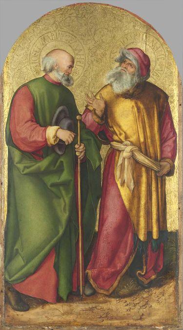 Jabach-Altar: Hll. Joseph und Joachim