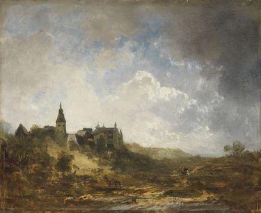 Schloss und Kirche in Günzburg an der Donau